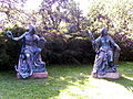 Brno - Park Luzanky - Statues of Trade and Tolerance.JPG