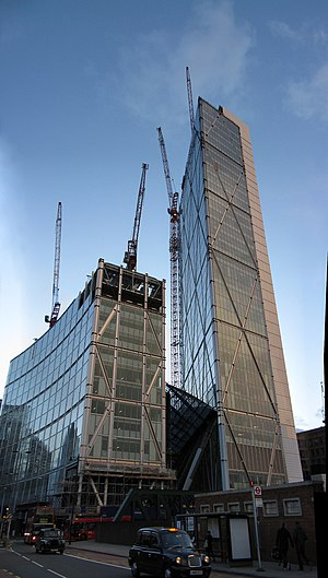 Broadgate Tower - Image: Broadgate tower dec 2007