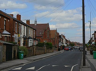Highbury Vale area of Nottingham, Nottinghamshire, England
