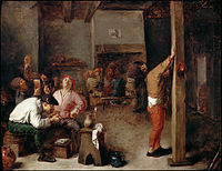 Brouwer, Adriaen - Interior of a Tavern - Google Art Project.jpg