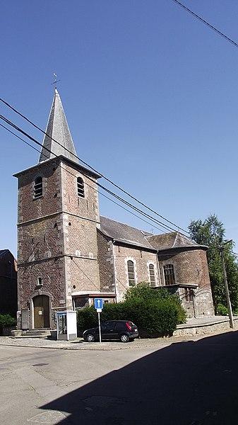 Oude kerk in Brye