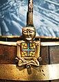 Buckle from Oseberg Vikingship Buddha.JPG