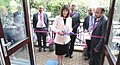 Bucks New University Vice-Chancellor cuts the ribbon on a new campus at Mont Rose College of Management and Sciences.jpg