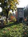 Bucuresti, Romania. Cimitirul Bellu Catolic. Zi de toamna insorita cu inger (2).jpg