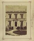 Budapest VI., Andrássy út 132., a Edelsheim-Gyulay-villa oldalhomlokzata, 1876 körül. - Fortepan 82114.jpg