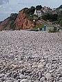Budleigh Salterton, pebble beach - geograph.org.uk - 1477250.jpg