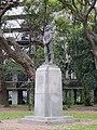 Buenos Aires - Palermo - Homenaje a Manuel de Arenales en Plaza Chile.JPG