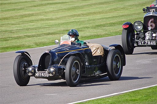 Bugatti Type 59 at Goodwood Revival 2012 (1)