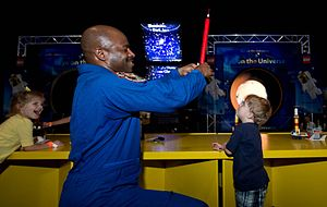 Leland D. Melvin - Image: Building the Future With LEGO and NASA