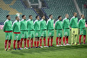 Bulgaria national football team - The Bulgaria National Football Team in 2010