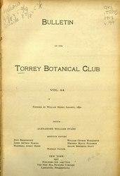 Bulletin of the Torrey Botanical Club.