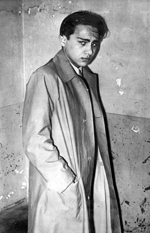 Herschel Grynszpan - Grynszpan after his arrest, 1938