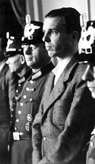 Berthold Schenk Graf von Stauffenberg German noble