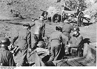Battle of Anzio - British POWs near Nettuno