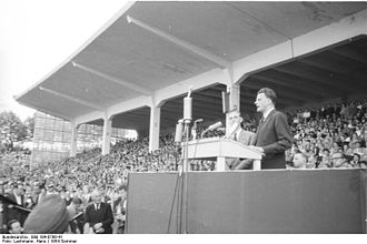 Evangelism - Billy Graham in Düsseldorf (1954)