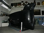 Le Brandtaucher au musée d'histoire militaire de Dresde