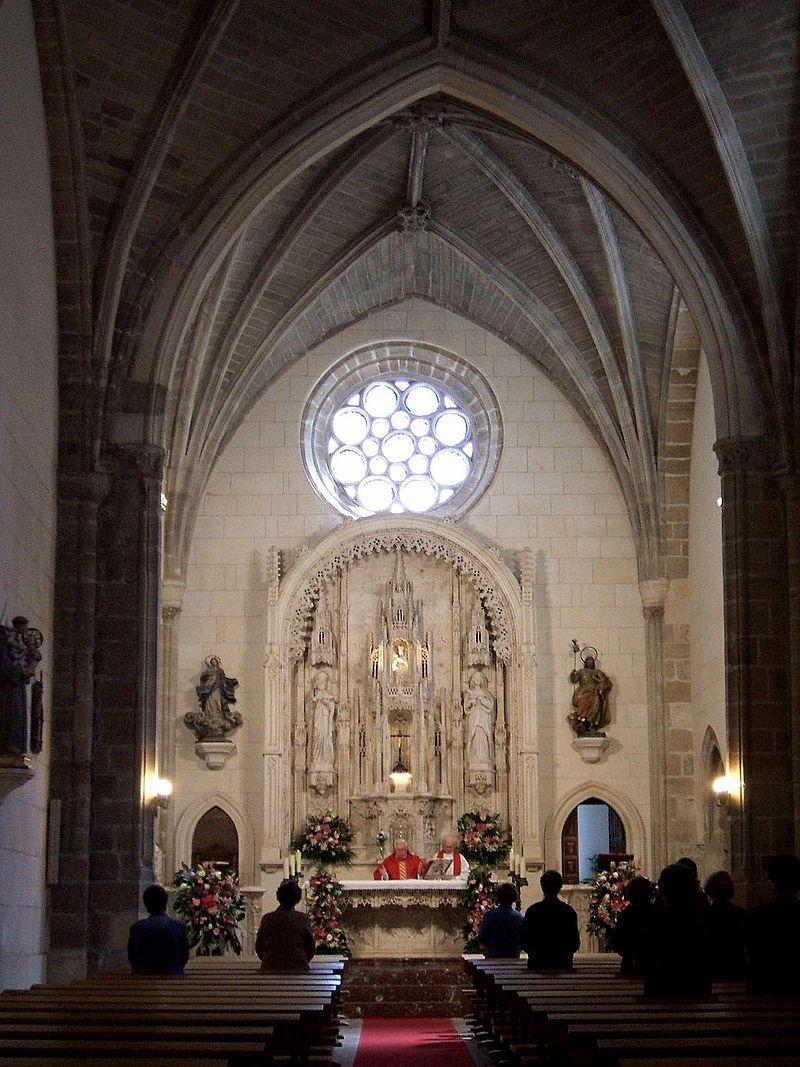 Burgos - Iglesia de Santa Águeda (o de Santa Gadea) 03.JPG