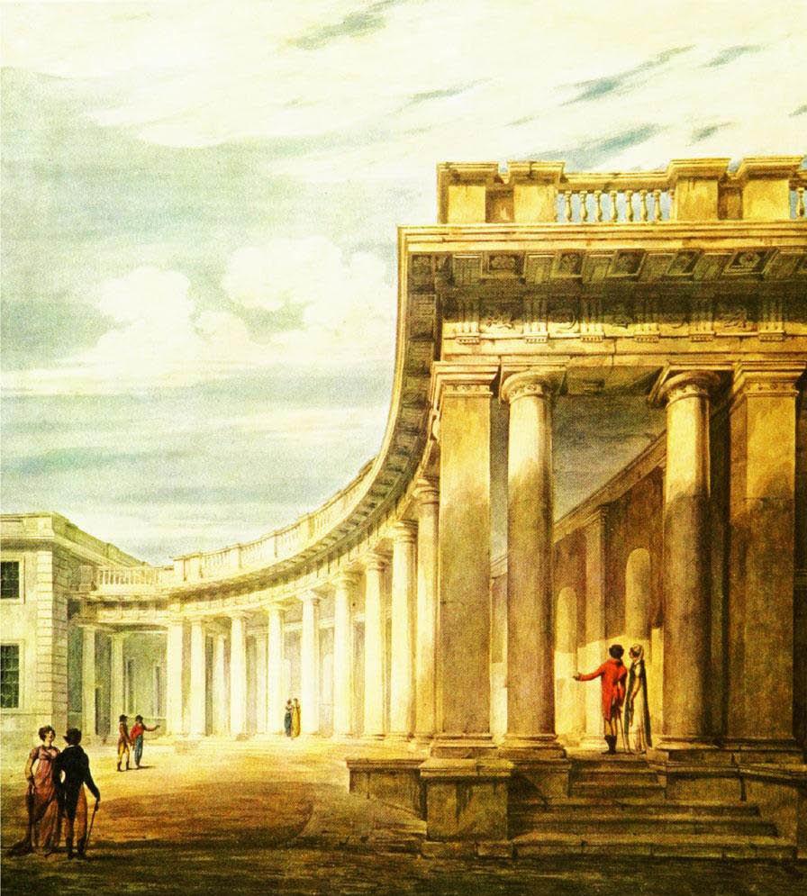Burlington Housec. 1806-8