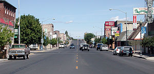 Eastern Oregon - Downtown Burns