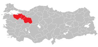 Bursa Subregion Subregion in East Marmara, Turkey