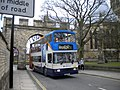 Bus passing through Priorygate arch - geograph.org.uk - 3006362.jpg