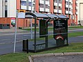 Bus stop Leevi Madetojan katu Oulu 20180923.jpg