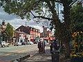 Bus stop near the Library, Wilmslow Road, Didsbury - geograph.org.uk - 1971618.jpg