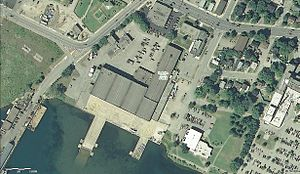 Canadian Bushplane Heritage Centre - USGS view of the complex.