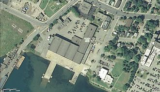 Canadian Bushplane Heritage Centre - USGS view of the complex.