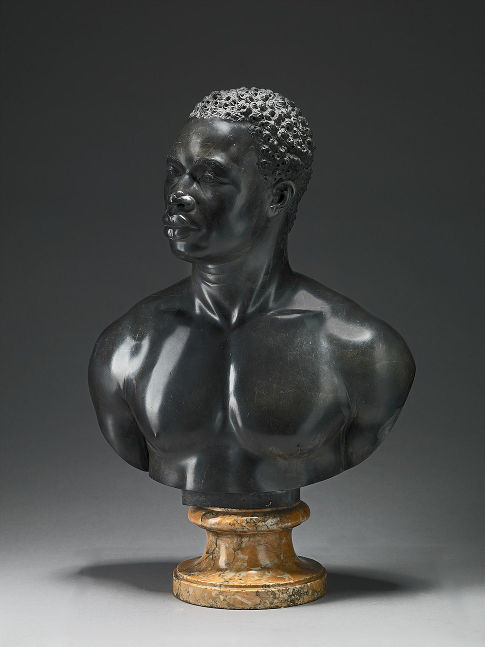 Bust of a Man by the studio of Francis Harwood