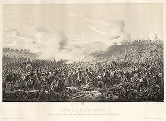 Battle of Inkerman - Death of general Cathcart