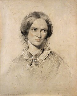 George Richmond, Charlotte Brontë (Mrs A.B. Nicholls), 1850.