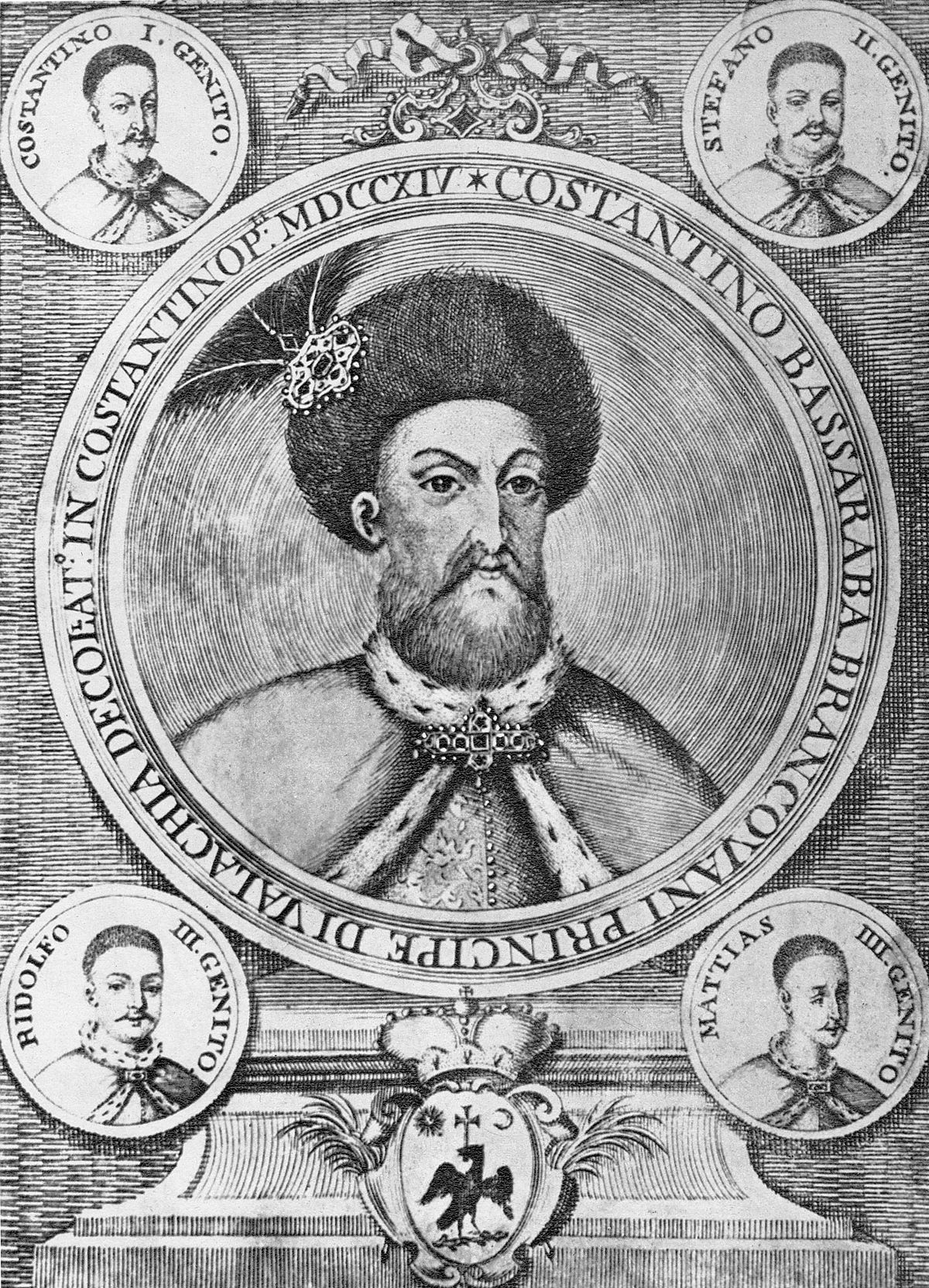 Al Com Mobile >> Constantin Brâncoveanu - Wikipedia