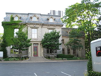 Jackson Street (Hamilton, Ontario) - CH TV 11 Studios, just West of Hess Street South