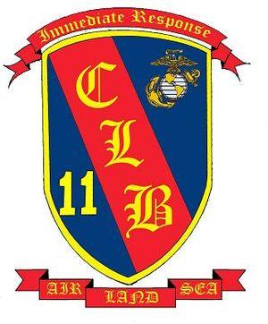 Combat Logistics Battalion 11 - Image: CLB 11 LOGO