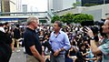 CNN Asia-Pacific Editor Andrew Stevens 1.35 pm 29 Sep 2014, Admiralty Occupy Hong Kong.jpg