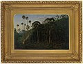 Cabbage Trees near the Shoalhaven River NSW 1860 Eugene von Guerard a1528199.jpg