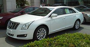 Cadillac XTS - Image: Cadillac XTS 01 China 2014 04 14