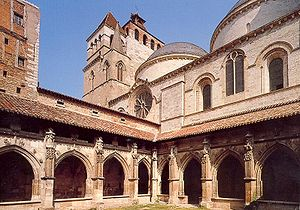 Cahors Cathedral - Cloister.