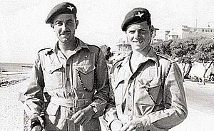 6th Airborne Division in Palestine - Men of the Parachute Regiment in Palestine.