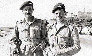 6th Airborne Division in Palestine - Men of the Parachute Regiment in Palestine.