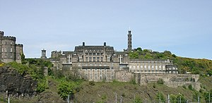 Thomas S. Tait - Southern aspect of St Andrew's House on Calton Hill.