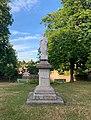 Calvaire de Saint-Julien-Molin-Molette, juillet 2020, statue du Christ.jpg