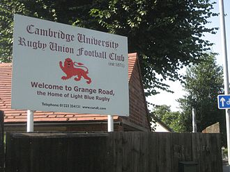 Cambridge University R.U.F.C. - Image: Cambridge University Rugby Union Football Club