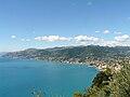 Camogli-panorama del Golfo Paradiso da San Rocco1.jpg