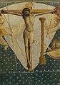 Campin (entourage du) - Le Christ en croix entouré de trois anges portant les instruments de la passion, Inv. 4058.jpg