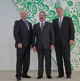 Gerry Ritz - Canadian Minister of Agriculture Gerry Ritz, Mexico Secretary of Agriculture, Livestock, Rural Development, Fisheries and Food Martinez y Martinez, and U.S. Agriculture Secretary Tom Vilsack