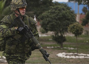 Canadian infantry in Ancon 2010-07-19 1