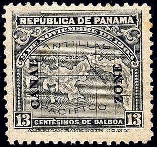 postage stamps and postal history of the canal zone wikipedia