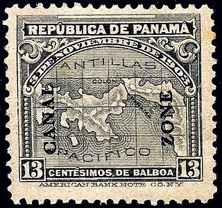 Postage stamps and postal history of the Canal Zone